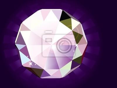 Un diamant taille brillant