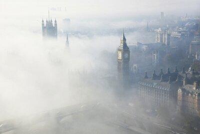 Image Un épais brouillard frappe Londres