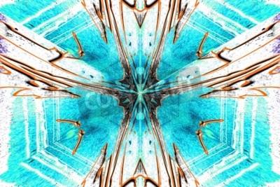 Image Une étoile abstraction symétrique