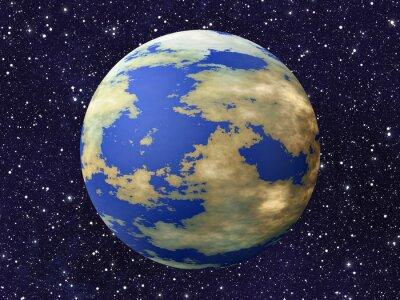 une planète de masse sur de nombreux milieux cosmos étoiles