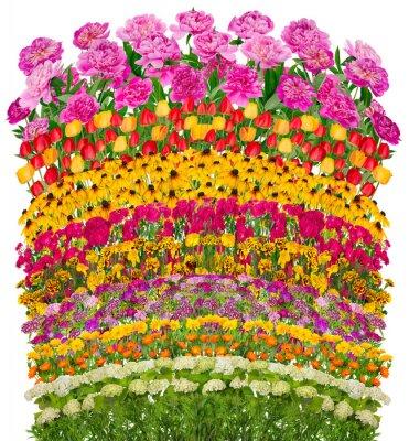 Image Vagues floraux lit fantastique isolé