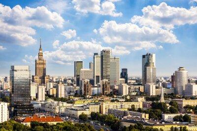 Image Varsovie quartier d'affaires