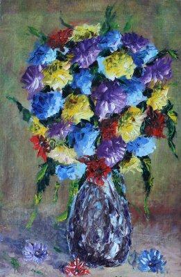 Image Vase de fleurs, nature morte