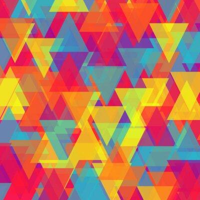 Image Vecteur abstraite triangle fond