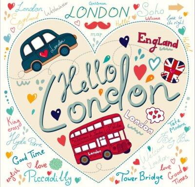 Vecteur ensemble de symboles de Londres