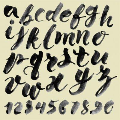 Image Vecteur main alphabet