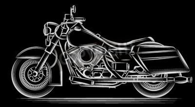Image Vecteur moto