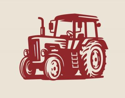 Image vecteur symbole tracteur