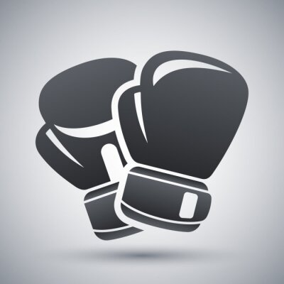 Image Vector boxing gloves icon
