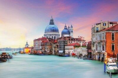 Image Venise - Grand Canal et la Basilique Santa Maria della Salute