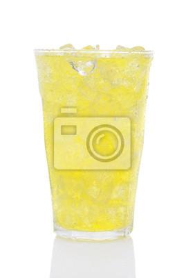 Verre de Lemon Lime Soda et glace