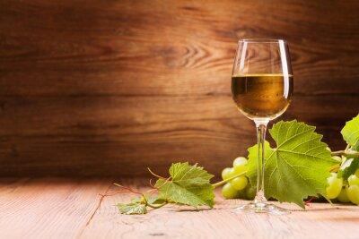 Image Verre de vin blanc.