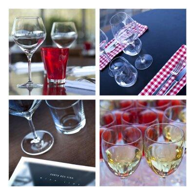 Image Verre, verrerie, vin, table, couvert, bar, brasserie, cave