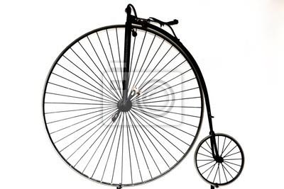 Bicyclette Image vieille bicyclette peintures murales • tableaux frein, a parlé