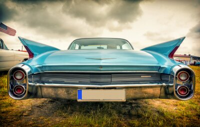 Image Vieille voiture américaine dans le style vintage