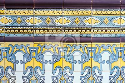Image Vieux Carreaux De Céramique Décoration Murale Espagnol