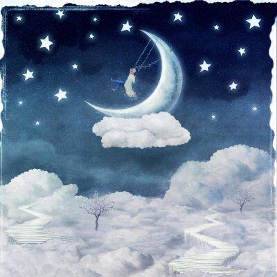 Image Ville, enfants, fantastique, nuages, ciel
