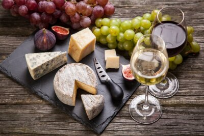 Image Vin et fromage