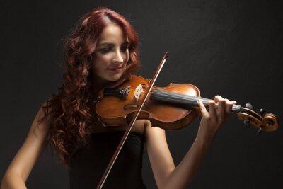 Image Violinst Woman