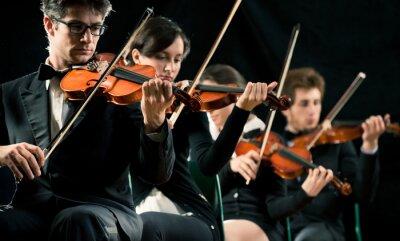 Image Violon orchestre performant
