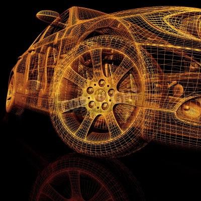 Image Voitures de modèle 3D