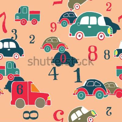 Image voitures et chiffres