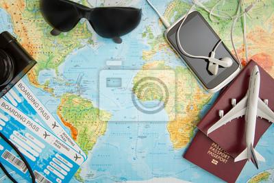 Image Voyage, voyage, voyage, mondiale, concept