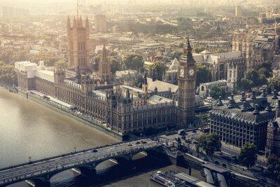 Image Vue aérienne de la ville de Londres