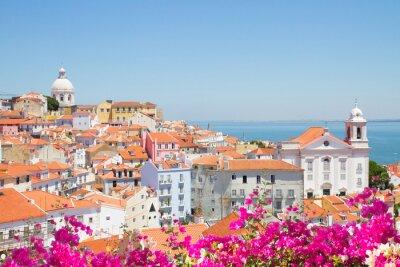 Image Vue de l'Alfama, à Lisbonne, au Portugal