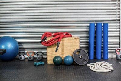 Image Vue de l'équipement de conditionnement physique