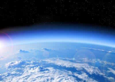 Image Vue de la Terre depuis l'espace