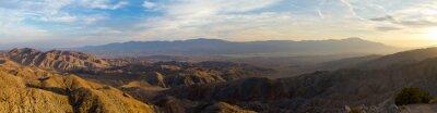 Image Vue panoramique de paysage de désert