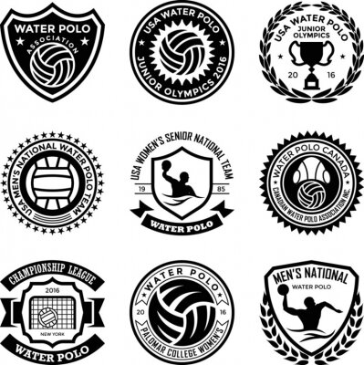 Image Water Polo Badges