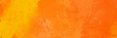 Image Watercolor red and orange color abstract banner.