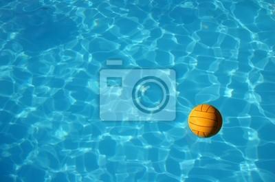 Image waterpolo balle dans la piscine (2)