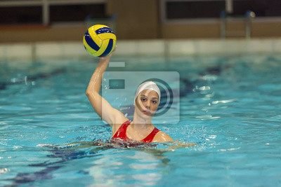 Image Waterpolo fille