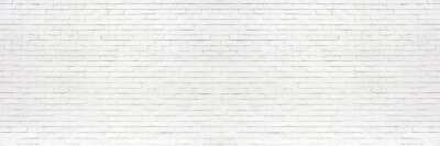 Image white brick wall may used as background