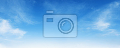 Image white cloud with blue sky background