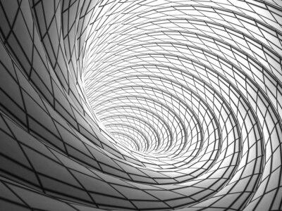 Image Wired Vortex Background