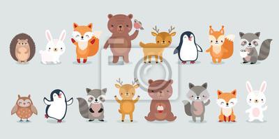 Image woodland characters