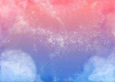 Image ふ わ ふ わ ピ ン ク の 空 Fluffy ciel rose