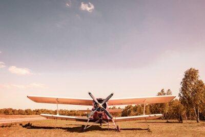 Image Ancien avion. Вiplane.