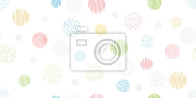 Image Cute geometric background. Seamless pattern.Vector. かわいい幾何学パターン