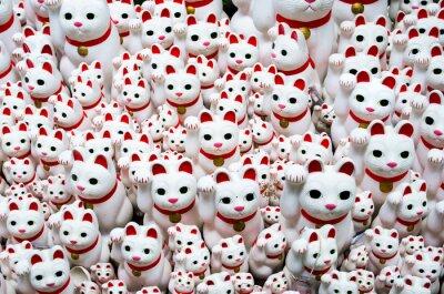 Image Goutokuji-temple Beckoning chat, tokyo, le Japon (豪徳寺 の 招き猫)