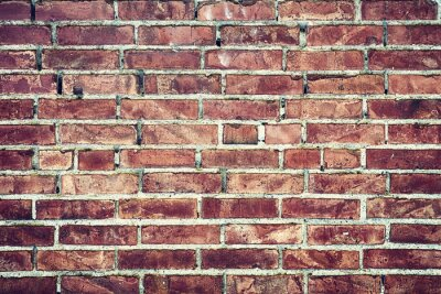 Image Zbliżenie na Stary mur z cegieł