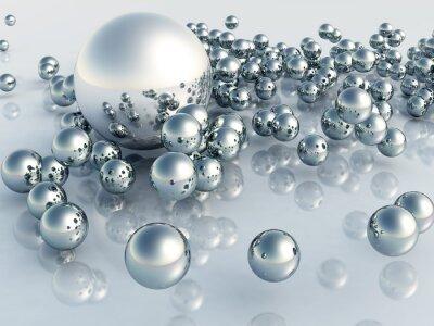 Papiers peints 3D perle