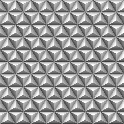 Papiers peints 3d triangle pattern