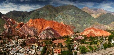 Papiers peints 7 couleurs montagne