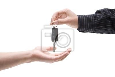 À propos des clés de voiture, entrez