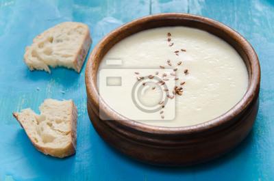 à soupe de purée de céleri-rave